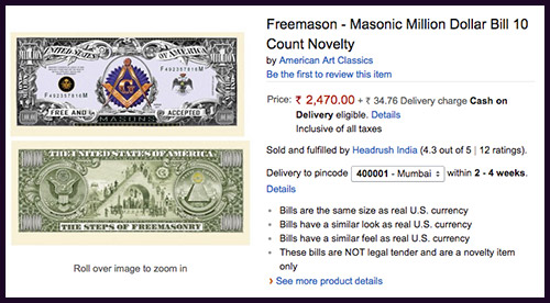 Mason Money Amazon