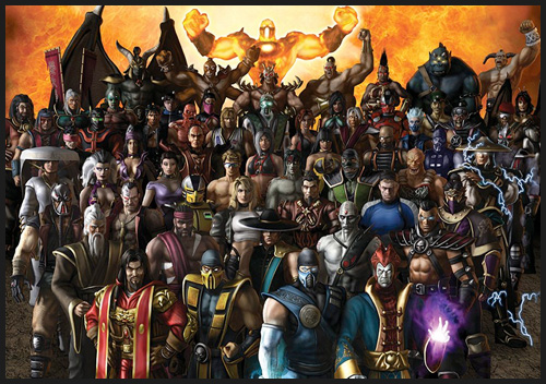 all mortal kombat characters pictures. mortal kombat: i was super